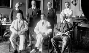 The 1914 Federal Reserve Board