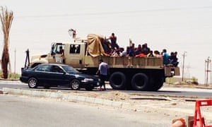 iraq isis gunmen tikrit captives
