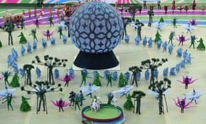 World Cup Opening Ceremony As It Happened Football The - 10 weird parts world cup opening ceremony