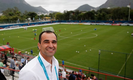 Roberto Martínez, the Everton manager, loved his first season at the club