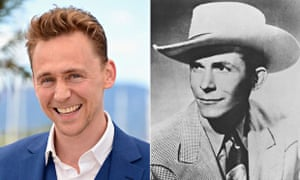 Tom Hiddleston and will play Country & Western legend Hank Williams in a new biopic