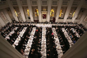 The Lord Mayor's Dinner to the Bankers and Merchants of the City of London at Mansion House in London June 12, 2014.