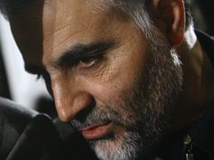Iranian Revolutionary Guard's Quds Force Brig. Gen. Ghassem Soleimani.