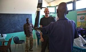 Mick Ebling in South Sudan