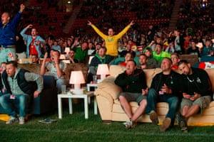 Sofa football: People react as Brazil score