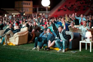 Sofa football: It's an exciting match