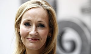 JK Rowling during the launch of website Pottermore in London