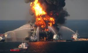 BP Deepwater Horizon.