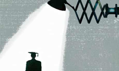 Spotlight over graduate
