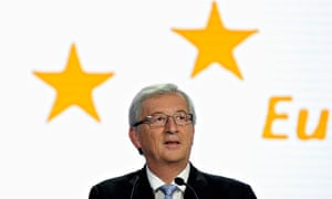 European commission presidential candidate Jean-Claude Juncker