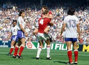 Robson's goal