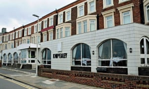 The outside of the New Kimberley in Blackpool.