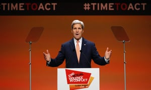 US Secretary of State John Kerry speaks at a summit to end sexual violence in conflict.