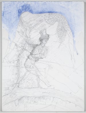 Matthew Barney's Untitled, 2010, in Mapping It Out: An alternative atlas of contemporary cartographies