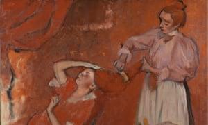 Degas Making Colour
