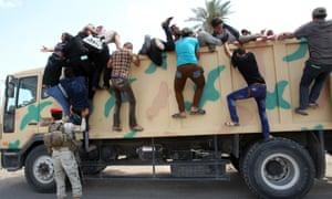 iraq shia militia volunteers isis