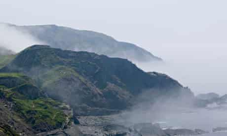 A sea fret: a mist rolling in off the sea.