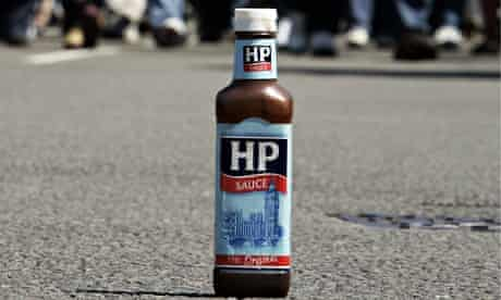 HP sauce bottle