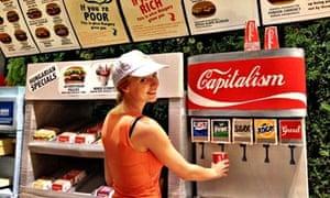 The drinks on offer inside Hunger King.