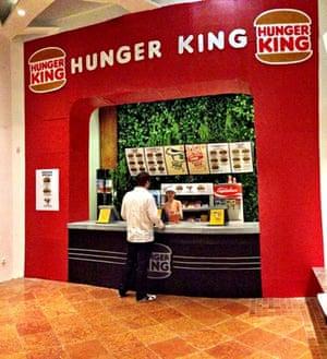 Inside Hunger King.