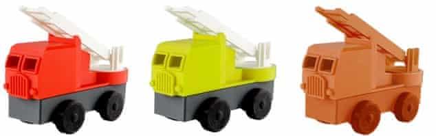 Luke's Toy Factory trucks