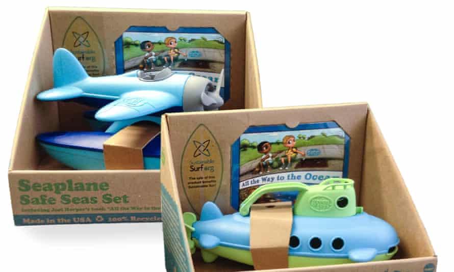 Green Toys submarines