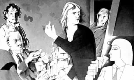 Richard Hamilton illustration of James Joyce's Ulysses