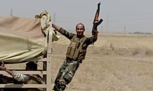 Kurdish Peshmerga forces seize control of Kirkuk