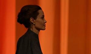 US actress and special UN envoy Angelina