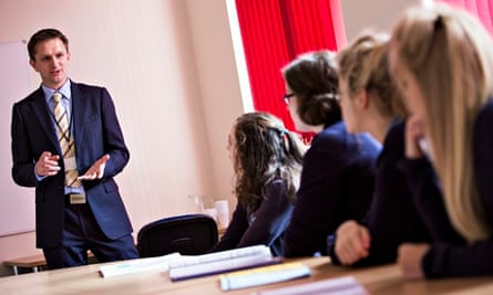 A sex-education class at Didcot girls' school.