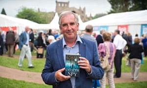 Robert Harris at the Borders Book Festival