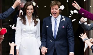 Paul McCartney and his new wife Nancy Shevell