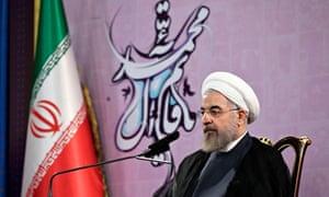 Hassan Rouhani hinted at a new age of cooperation with the US and the west.