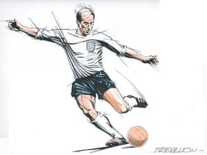 Trevillion exhibition: Bobby Charlton