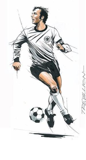 Trevillion exhibition: Franz Beckenbauer
