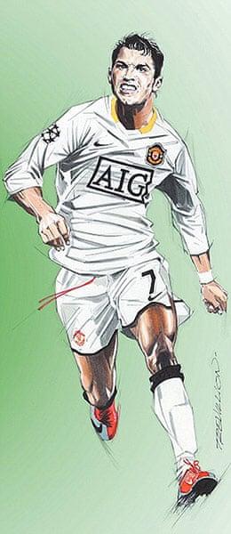 Trevillion exhibition: Ronaldo