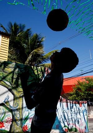 Manaus: football kid
