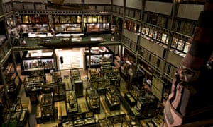 The Pitt Rivers Museum, Oxford.