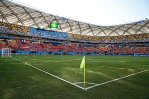 England v Italy: Pitch