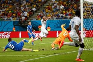 England versus Italy: England chance