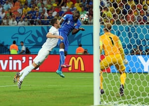England versus Italy: Mario Balotelli