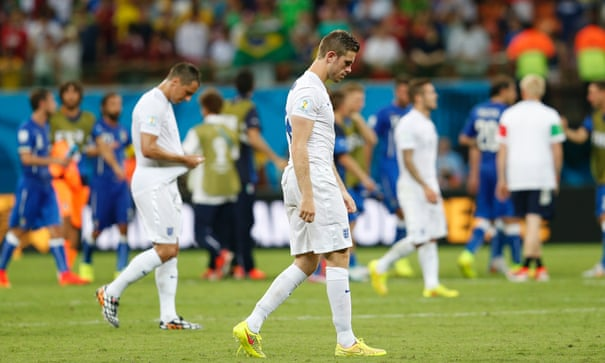 England 1-2 Italy: World Cup 2014 – as it happened