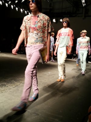 Topman Design - Candy hued heaven. London Men's Fashion Week SS15, 15th June 2014 lcmplog