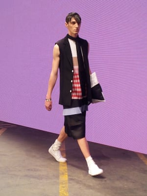 MAN - Nicomede Talavera. (nb there are 3 collections in MAN) London Men's Fashion Week SS15, 15th June 2014 lcmplog