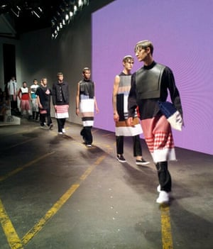 MAN (nb there are 3 collections in MAN). Nicomede Talavera London Men's Fashion Week SS15, 15th June 2014 lcmplog