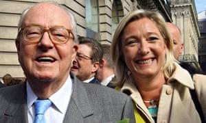 Jean-Marie Le Pen and Marine Le Pen