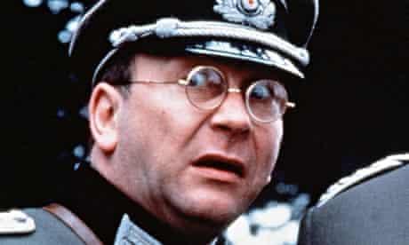 Sam Kelly as Captain Geering in 'Allo 'Allo, 1982.