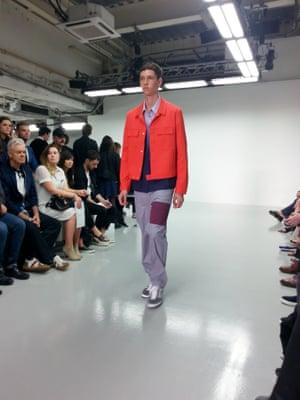 Richard Nicoll.  London Men's Fashion Week SS15, 15th June 2014 lcmplog