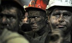coal miners ukraine