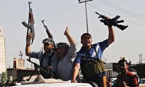 Iraq Shia fighters Isis